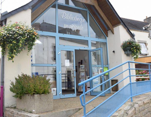 Bibilotheque Damgan Morbihan