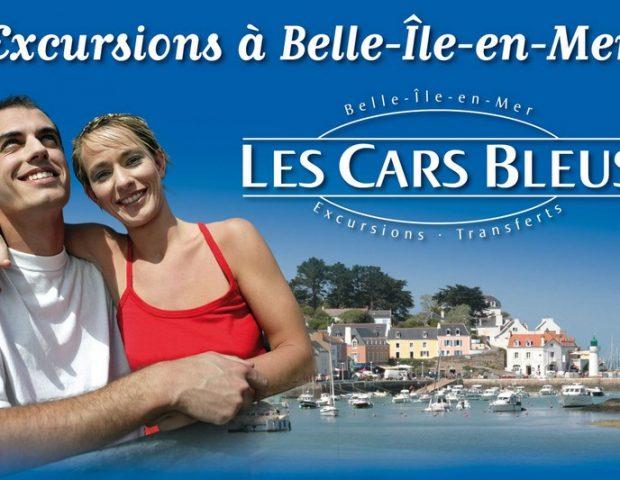 Les Cars Bleus Le Palais Morbihan