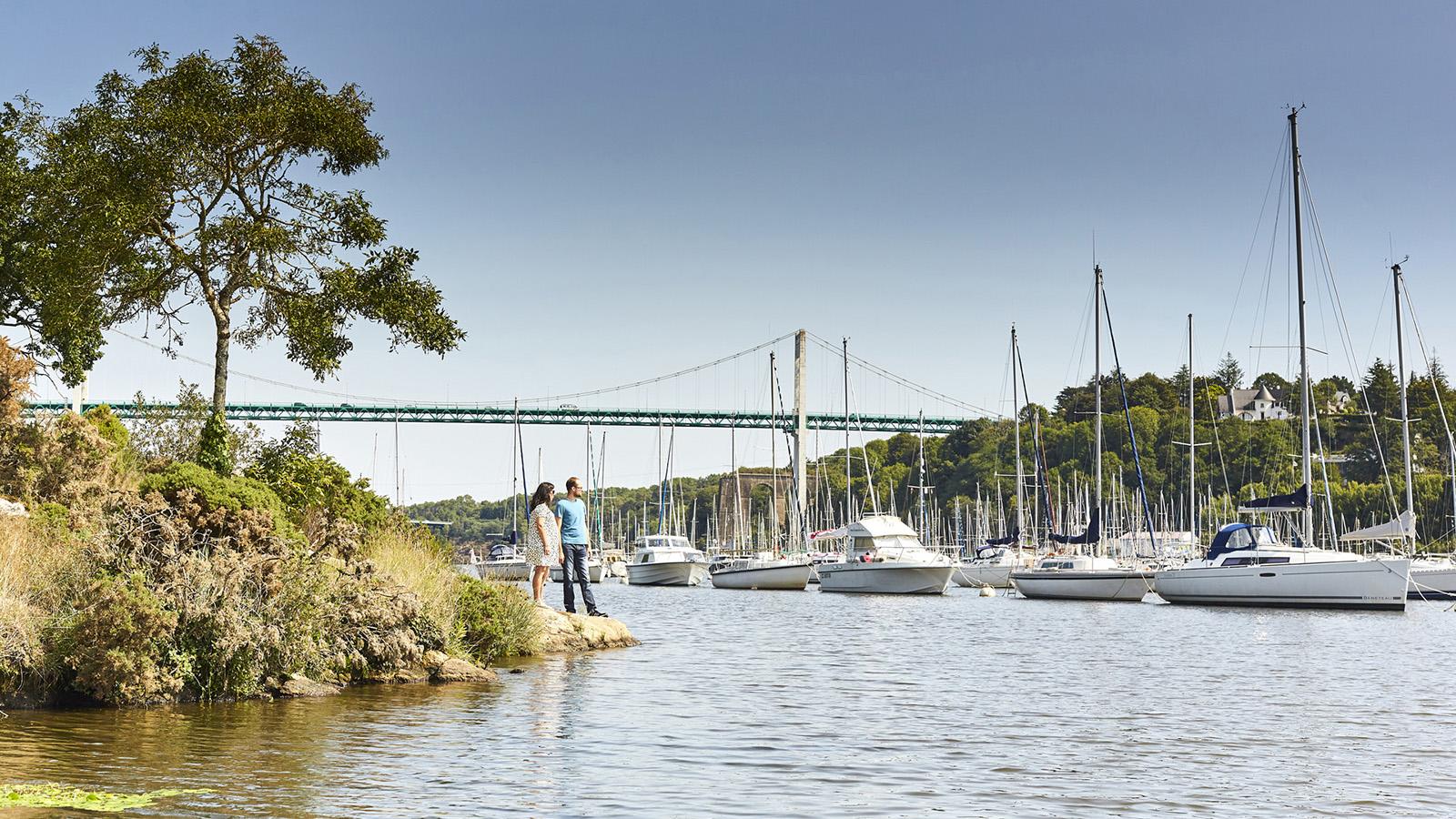 Slider 8 – navette fluviale Marzan – La Roche-Bernard