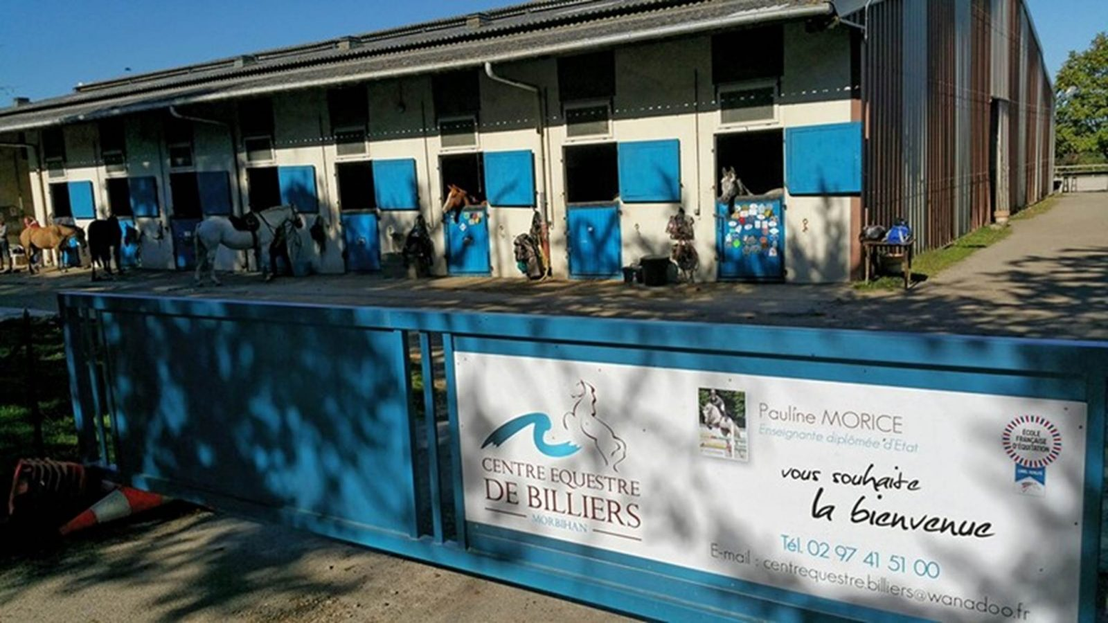 Centre équestre de Billiers Morbihan
