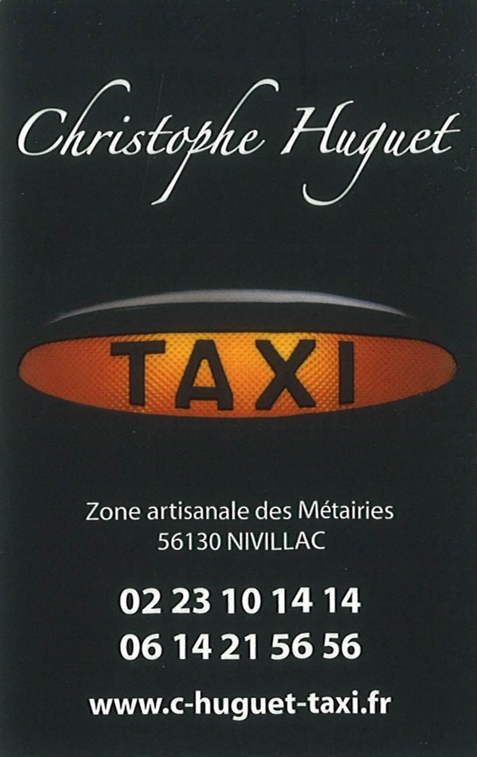 Taxi Christophe Huguet
