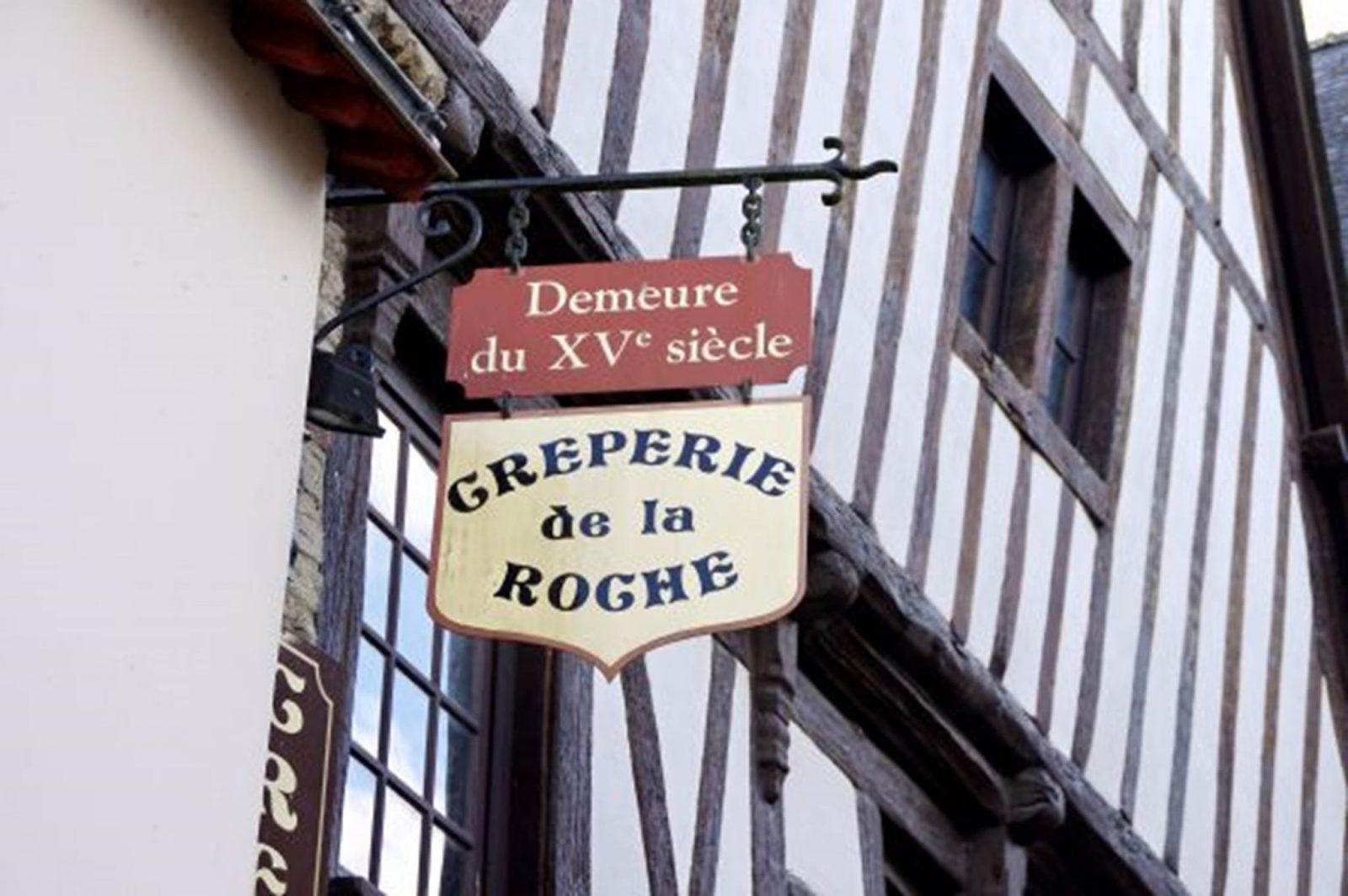 Crêperie de la Roche – La Roche-Bernard – Morbihan