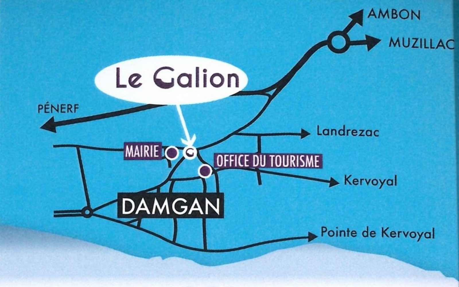 Galion Damgan Morbihan