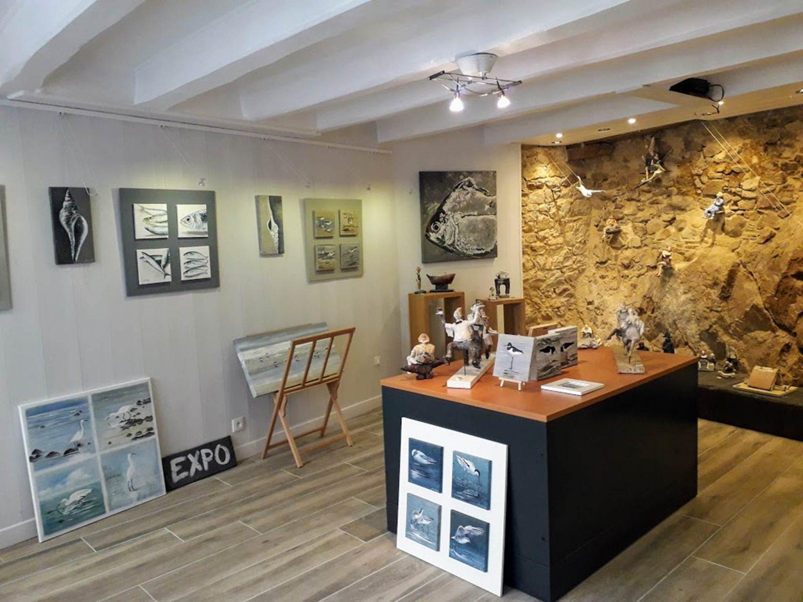 La Galerie du Loup-La Roche Bernard-Morbihan Bretagne Sud