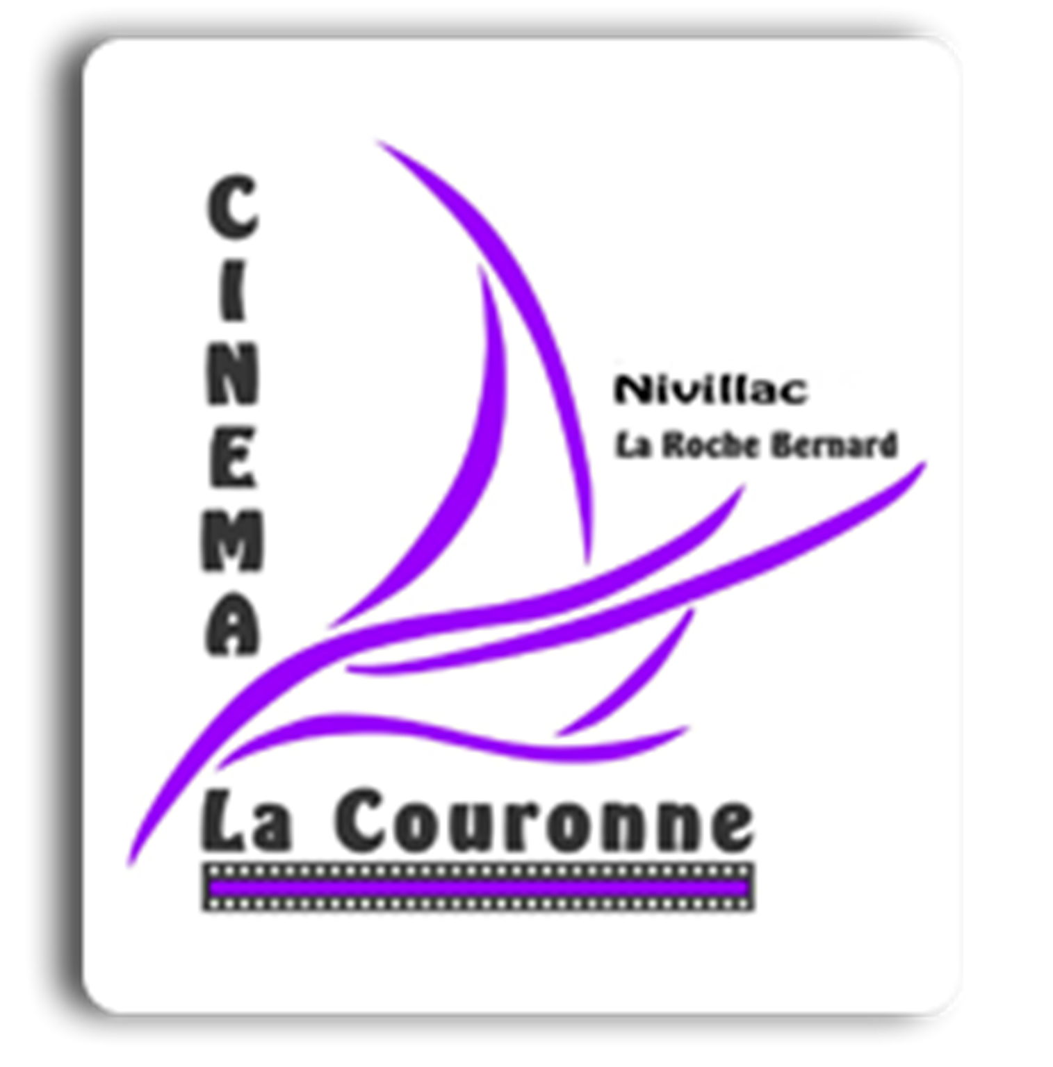logo cinéma la couronne