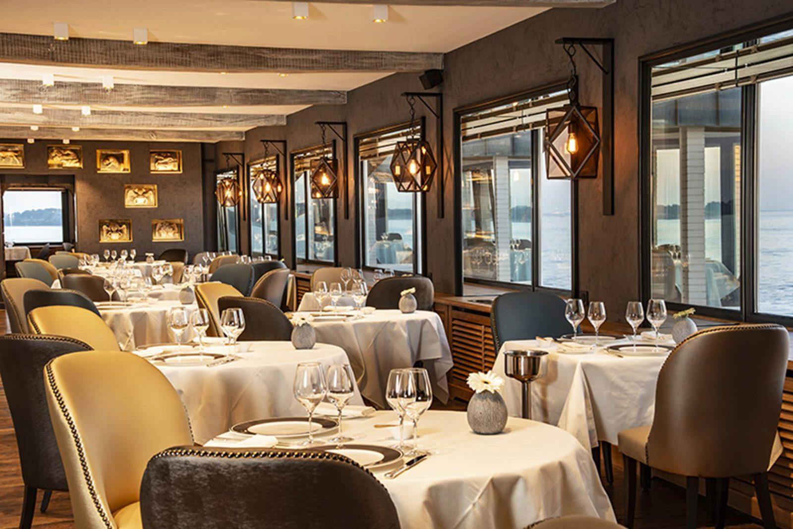 Restaurant Domaine de Rochevilaine Billiers Morbihan