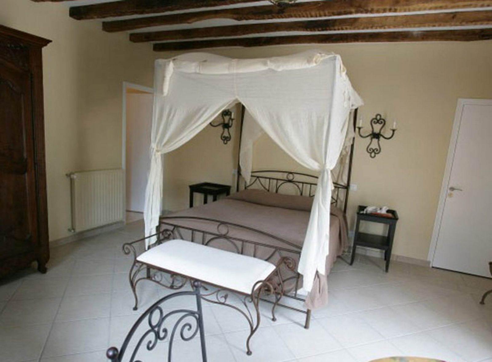 Chambre 1 – Hôtel Domaine de Bodeuc – Nivillac – Morbihan Bretagne Sud