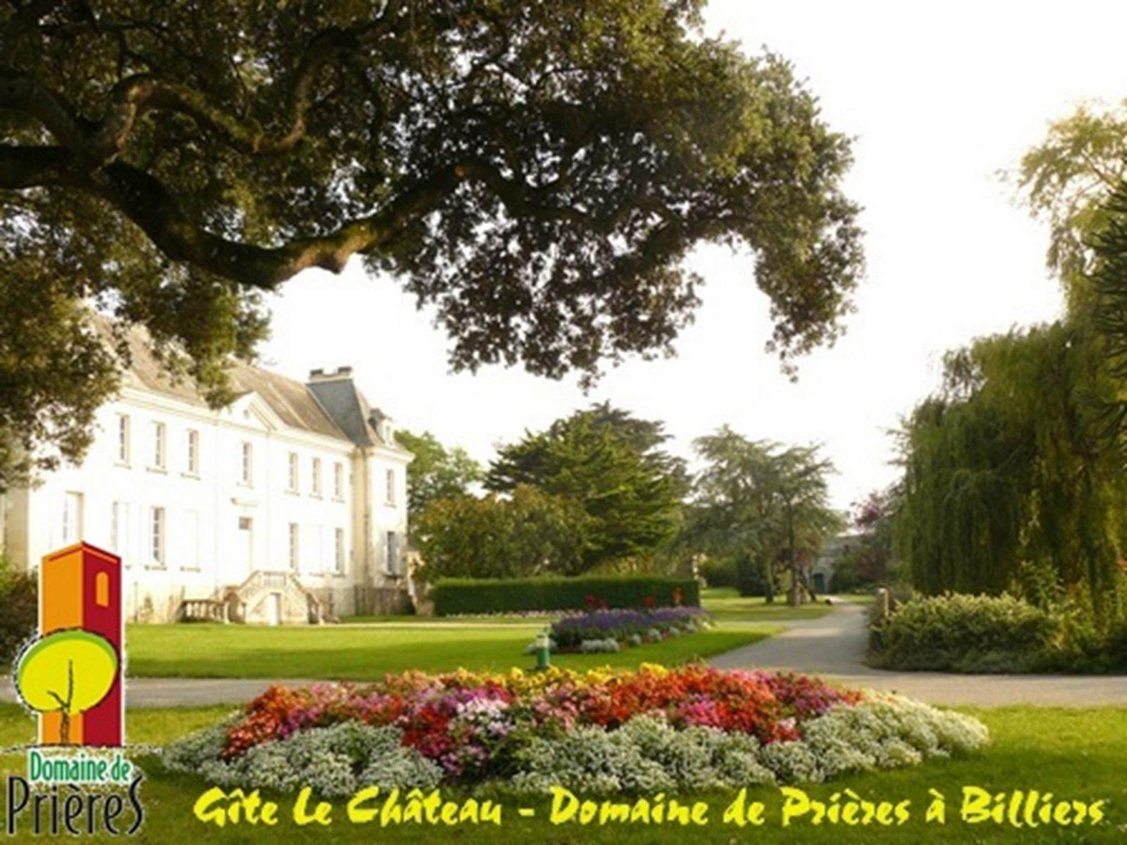Hébergement de groupes Le Château Billiers Morbihan