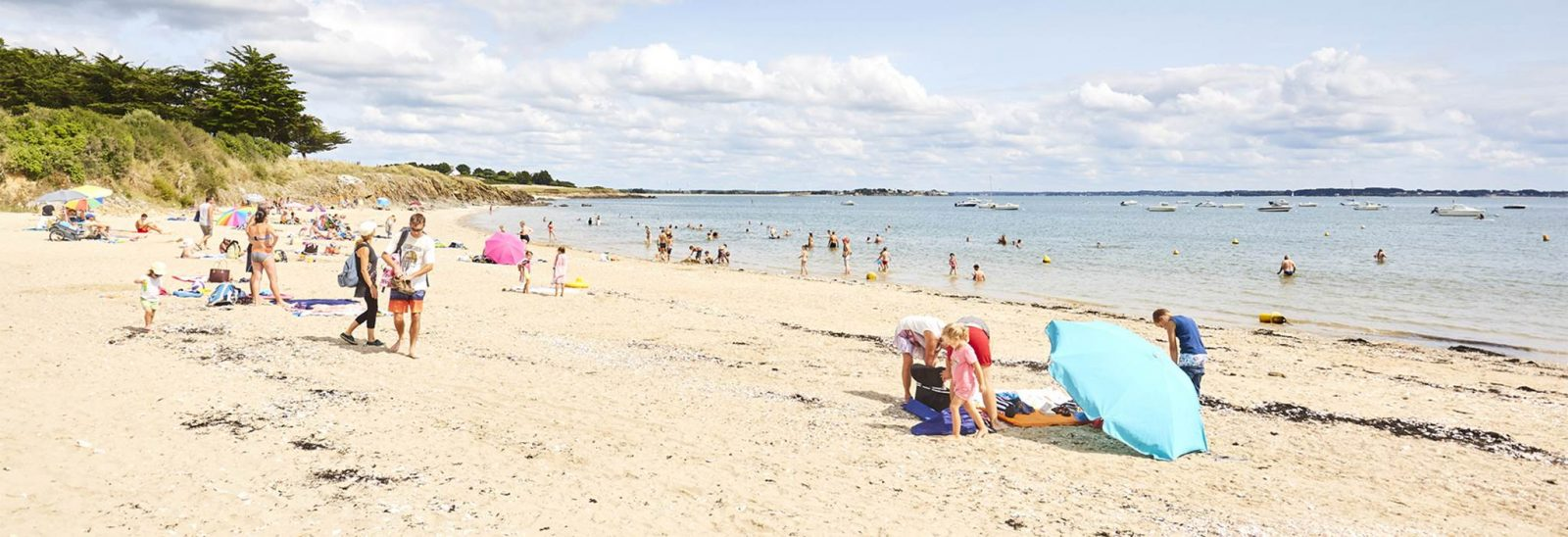 Plage de Cromenach Ambon Morbihan