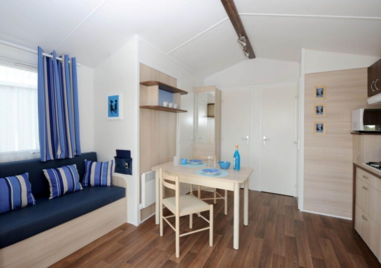 Mobil-Home 1 – Camping du Pâtis – La Roche-Bernard – Tourisme Arc Sud Bretagne