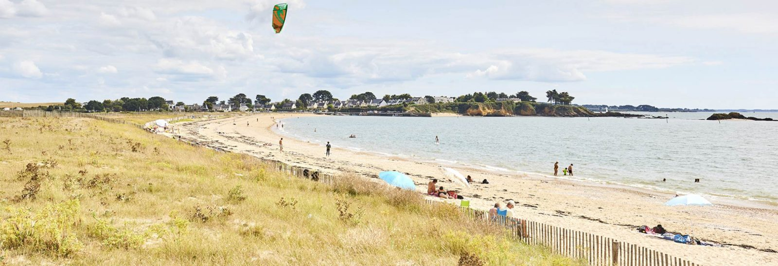 Plage de Bétahon Ambon Morbihan